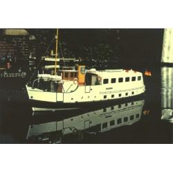 CNC- Frästeile Motorschiff...